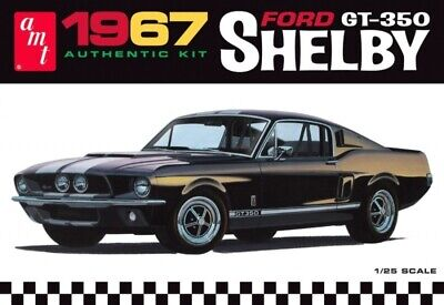 £33.99 • Buy 1967 Shelby Mustang GT-350 1:25 Scale AMT Detailed Plastic Kit