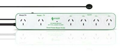 AU59.99 • Buy Surge Protector 6 Outlet Powerboard Power Board Energy Saver Auto Standby