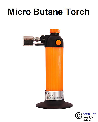 £8.70 • Buy Micro Blow Torch Gas Butane Kitchen Cooking Browning Lighter Chef Diy Soldering