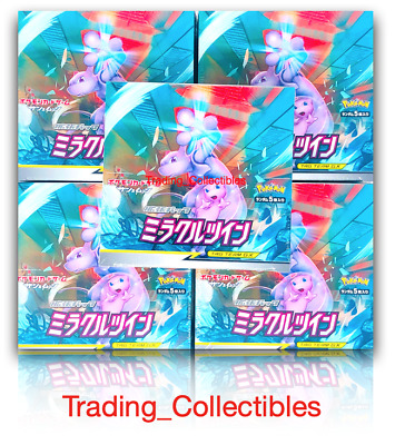$114.95 • Buy Miracle Twin Pokemon Japanese Booster Box Pack Sun & Moon USA Seller