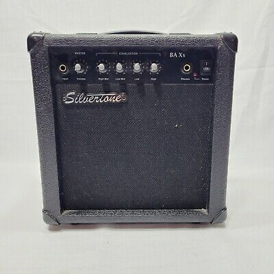 $ CDN87.71 • Buy Silvertone BA Xs Bass Guitar Combo Amplifier Tested