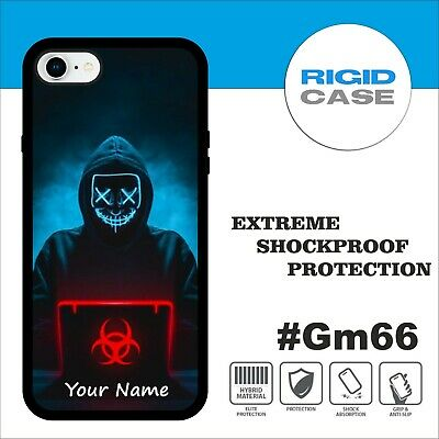 Personalised Gamer Phone Case Kids Cover Shockproof Case Custom Name Id #Gm66 • 9.99£