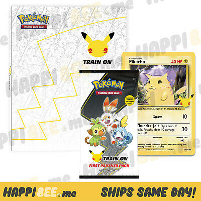 $12.75 • Buy Pokemon First Collector Or Binder Partner Pack🍯TCG Booster Pack Cards Oversized