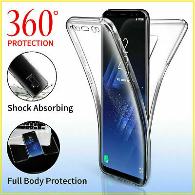 AU2.99 • Buy ShockProof Hybrid 360 TPU Case Cover For Samsung Galaxy S7 Edge S8 S9 S10 T1Y5