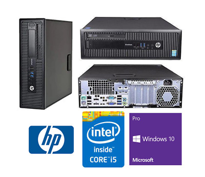AU215 • Buy Desktop PC HP Intel Quad Core I5 4GB/8GB 160-500GB SATA 120/240/480GB SSD NVIDIA