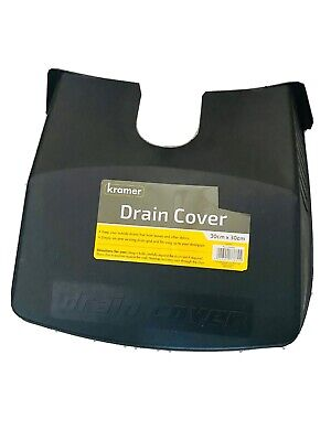 £5.99 • Buy Drain Cover Leaf Guard Cover Tidy Black Plastic Protector