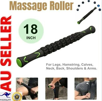 AU20.95 • Buy Massage Roller Stick Travel Yoga Muscle Roller Tool Foam Fitness Equipment Sport