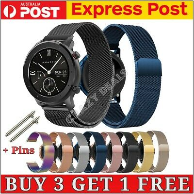AU11.85 • Buy Loop Steel Magnetic Sport Wrist Watch Band For Samsung Gear S3/46/42mm/Active/2