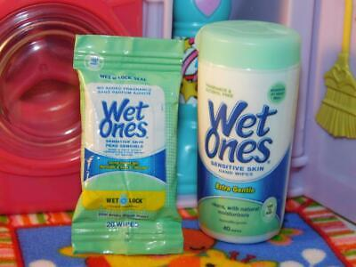 $ CDN9.99 • Buy Zuru Mini Brands Wet Ones Sensitive Skin Wipes & Handwipes Pack Lot Fits Barbie