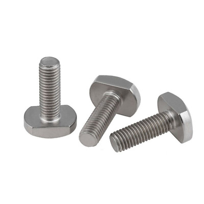 $8.26 • Buy M5 M6 M8 M10 M12 M16 Bolts For T-Slot Stainless Steel Bolt Screw Square Bolts