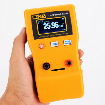 $34.09 • Buy 1x M6013 LCD High Accuracy Capacitor Meter Measuring Capacitance Resistance NEW