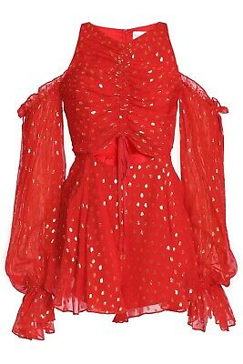 AU95 • Buy Alice Mccall Did It Again Red Playsuit Size 8