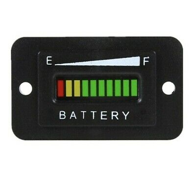 £13.99 • Buy 48V LED Battery Indicator Charge Status Meter Gauge Auto Battery Capacity Tester