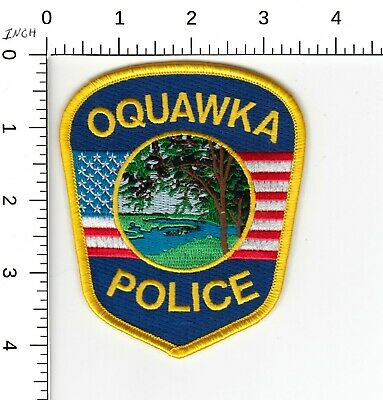 $ CDN7.11 • Buy Oquawka Illinois Il Police Shoulder Patch