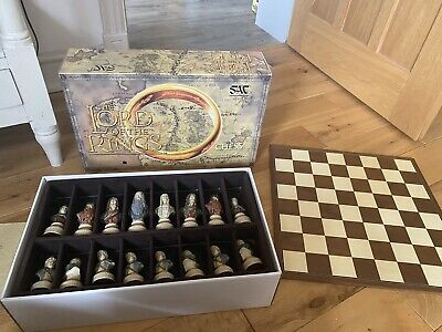 £325 • Buy The Regency Chess Company Lord Of The Rings Chess Set - Wenge Edition
