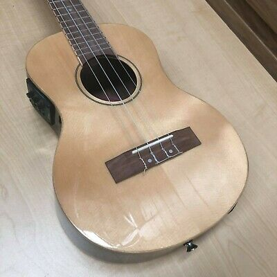 AU249 • Buy Martinez Southern Belle Solid Top Electric Tenor Ukulele W/ Case (Seconds Stock)