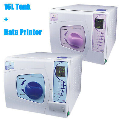 £1369 • Buy 16L Dental Medical Sterilizer Autoclave Vacuum Steamer With Data Printing System