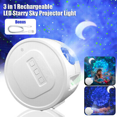 AU41.98 • Buy LED Star Night Light Projector Galaxy Starry Ocean Star Sky Party Lamp Kids Gift