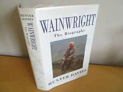 £19.99 • Buy 1995 WAINWRIGHT THE BIOGRAPHY By DAVIES - SIGNED FIRST EDITION Lakeland Fells