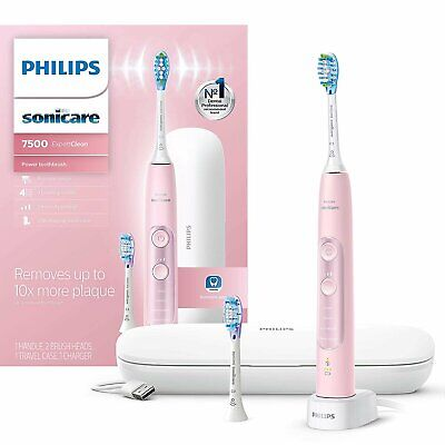 AU220.32 • Buy Philips Sonicare ExpertClean 7500 Bluetooth Rechargeable Electric Toothbrush