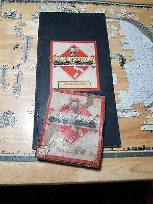£14.99 • Buy Vintage Monopoly Board Game Very Old Very Rare Hard To Find