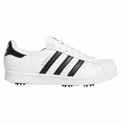 AU169.95 • Buy NEW *Adidas Superstar Golf Shoes - White/Black/Gold - Drummond Golf