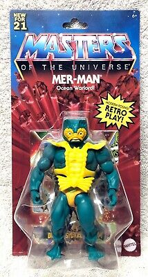 $39.99 • Buy MER-MAN 2021 Masters Of The Universe Motu NEW He-man Sealed WAVE 3 Action Figure