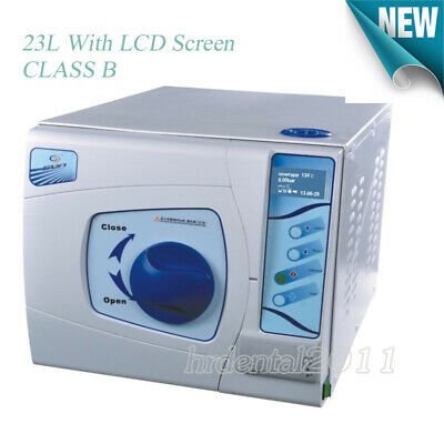 £1918.80 • Buy 23L Class B Dental LCD Autoclave Sterilizer 3 Pulsating Vacuum With Data Printer