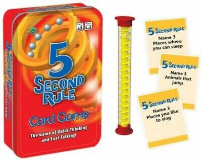 AU16.99 • Buy 5 Second Rule Tin By Various [Novelty]