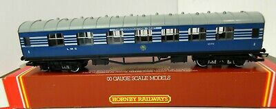 £22.75 • Buy Hornby R422 LMS 1st Class Coach Coronation Scot 1070 Blue Boxed OO (7)