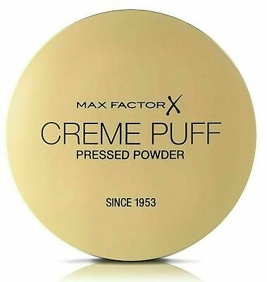 £4.95 • Buy MAX FACTOR Creme Puff Compact Pressed Face Powder 21g *CHOOSE YOUR SHADE*