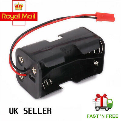 £5.75 • Buy Receiver Battery Pack Case Box Holder 4 X AA Nitro RC Compatible JST 2 PIN