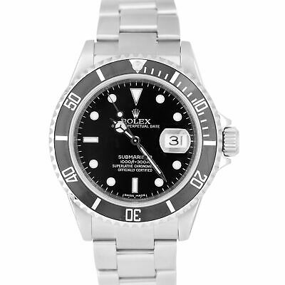 $ CDN11517.03 • Buy 2008 Rolex Submariner Date ENGRAVED REHAUT Stainless Pre-Ceramic Watch 16610 T