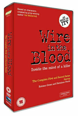 £4.45 • Buy Wire In The Blood: Series 1 And 2 (5 Disc Box Set) (DVD) New (2005) Robson Green