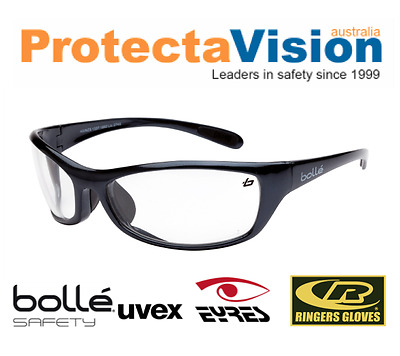 AU25 • Buy New Bolle Safety Glasses Raptor Clear Lens Medium Impact