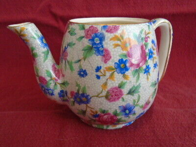 $ CDN35 • Buy Royal Winton Grimwades Old Cottage Chintz Breakfast Set One Cup Teapot