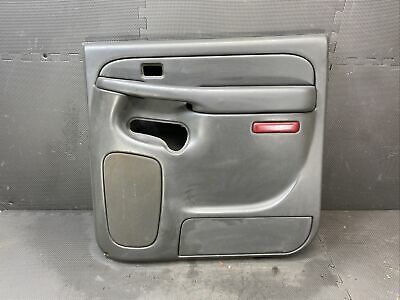 $99.99 • Buy ♻️oem 2001-2006 Suburban Silverado Sierra Rear Right Passenger Door Panel Trim