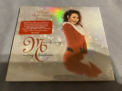 £9.99 • Buy Carey, Mariah - Merry Christmas Deluxe Anniversary Edition NEW 2 X CD Sealed