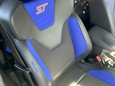 AU950 • Buy Ford Focus Lz St Turbo 5 Door Blue Cloth Black Leather Seats