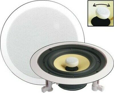 AU109.95 • Buy 2 Way Coaxial Mid-Woofer HiFi W/ Protected Tweeter Titanium Coated 8Ohm 60W Prms