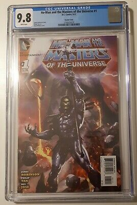 $1991.48 • Buy He-man And The Masters Of The Universe #1 Cgc 9.8 Wilkins Skeletor 1:25 Variant