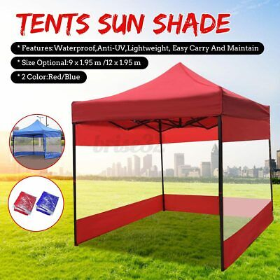 AU39.49 • Buy 9m Mountview Gazebo Marquee Mesh Side Wall Canopy Wedding Tent Gazebos Outdoor
