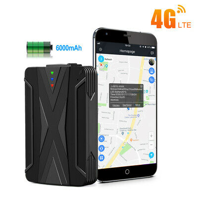 AU88.99 • Buy Car GPS Tracker 4G Vehicle Real Time Locator Voice Monitor Waterproof Magnetic