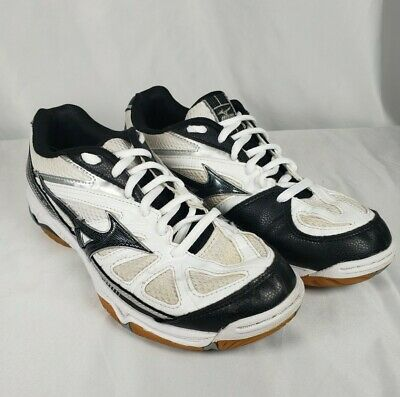 $ CDN26.60 • Buy Mizuno Wave Hurricane 2 Womens Size 8 Volleyball Shoes White Black Gray