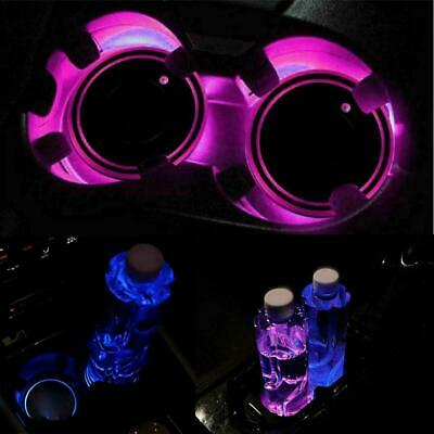 AU5.89 • Buy LED Cup Pad Car Accessories Light Cover Interior Decoration 10%OFF Lights Q6B3