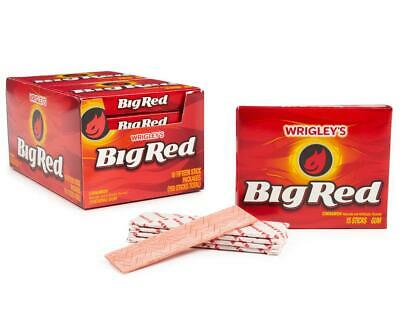 £3.29 • Buy Wrigley's Big Red Cinnamon Flavour Chewing Gum American Candy Sweets USA Import