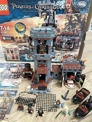 £120 • Buy LEGO Pirates Of The Caribbean 4194, Whitecap Bay, 100% Complete Box Poster Card