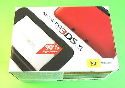 AU189.99 • Buy Nintendo 3DS XL Red Handheld Console Boxed Complete Very Good Condition