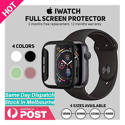 AU5.90 • Buy Apple Watch IWatch Series 2 3 4 5 6 SE 38/40/42/44mm Glass Screen Protector Case