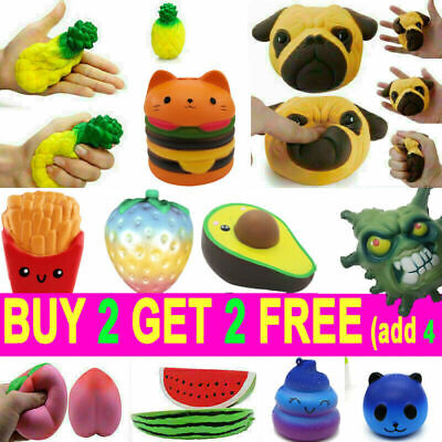 AU10.29 • Buy New Jumbo Slow Rising Soft Scented Squishys Squeeze Toy Reliever Stress Gifts AU